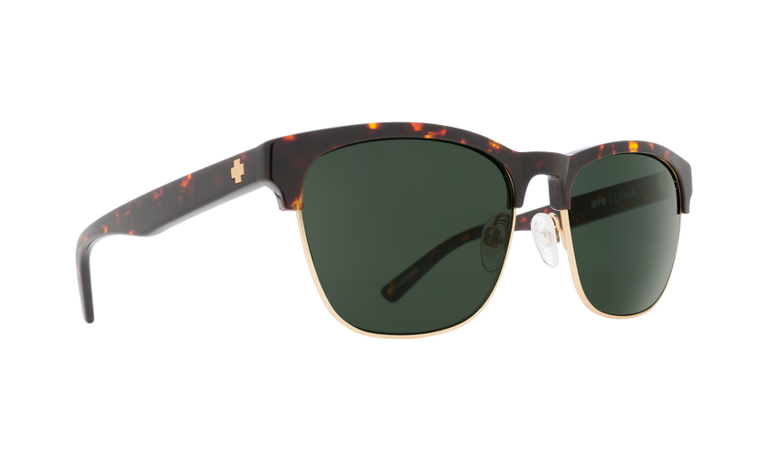 LOMA DARK TORT/MATTE GOLD - HAPPY GRAY GREEN