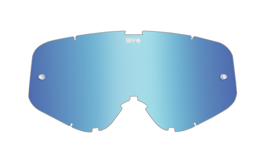 WOOT/WOOT RACE MX LENS - SMOKE W/ LIGHT BLUE SPECTRA AFP