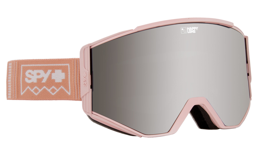 Ace Snow Goggle - Deep Winter Rose Quartz/Happy Gray Green with Silver Spectra + Happy Yellow with Lucid Green