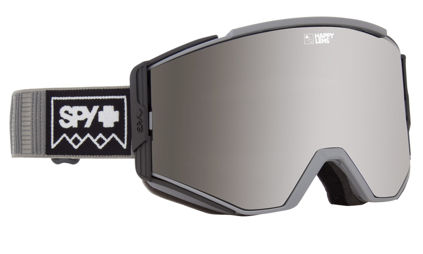 Ace Snow Goggle - Deep Winter Gray/Happy Gray Green with Silver Spectra + Happy Yellow with Lucid Green