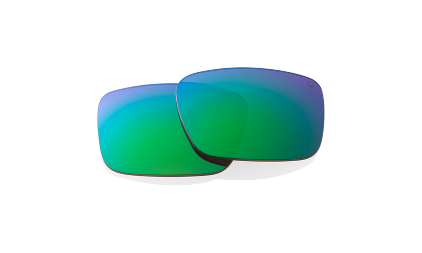 DISCORD REPLACEMENT LENSES - HAPPY BRONZE POLAR W/GREEN SPECTRA