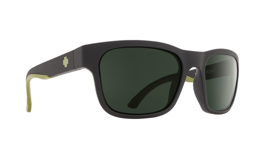 HUNT MATTE BLACK/ OLIVE- HAPPY GRAY GREEN POLAR