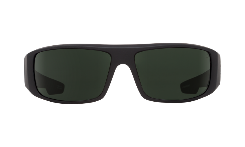 Logan - Soft Matte Black/Happy Gray Green
