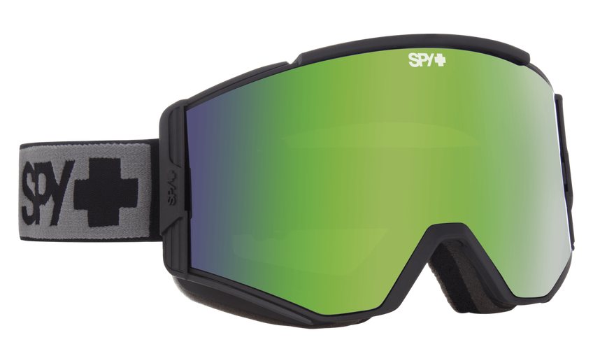 Ace Snow Goggle - Black/Bronze with Green Spectra + Yellow