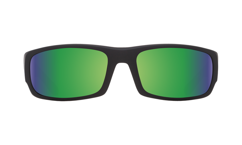 Caliber - Soft Matte Black/Happy Bronze Polar with Green Spectra