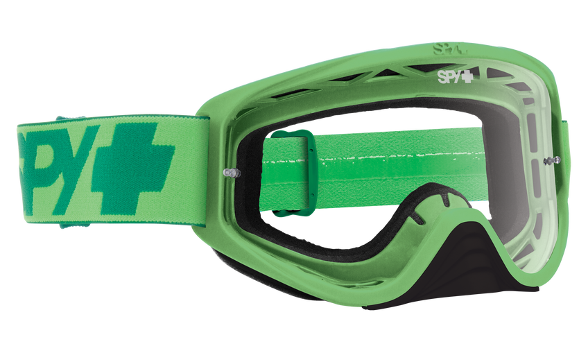 Woot Mx Goggle - Mono Green/Clear AFP