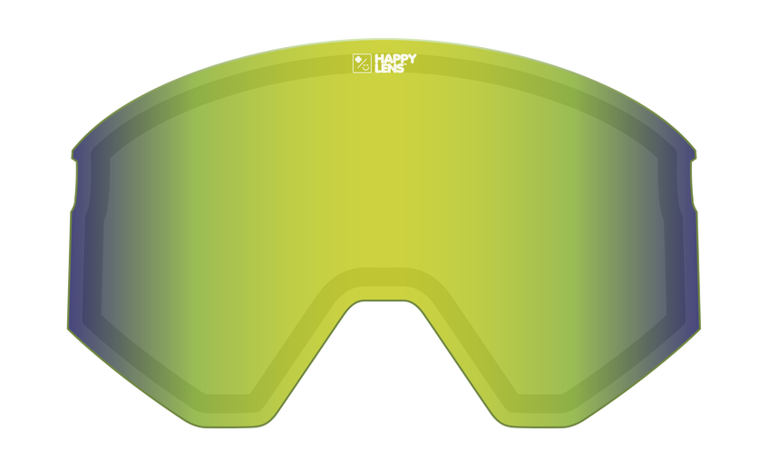ACE LENS - HAPPY BRONZE w/ GREEN SPECTRA