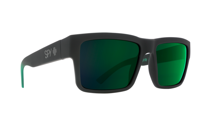 MONTANA SOFT MATTE BLACK/GREEN FADE - HAPPY GRAY GREEN W/GREEN FLASH