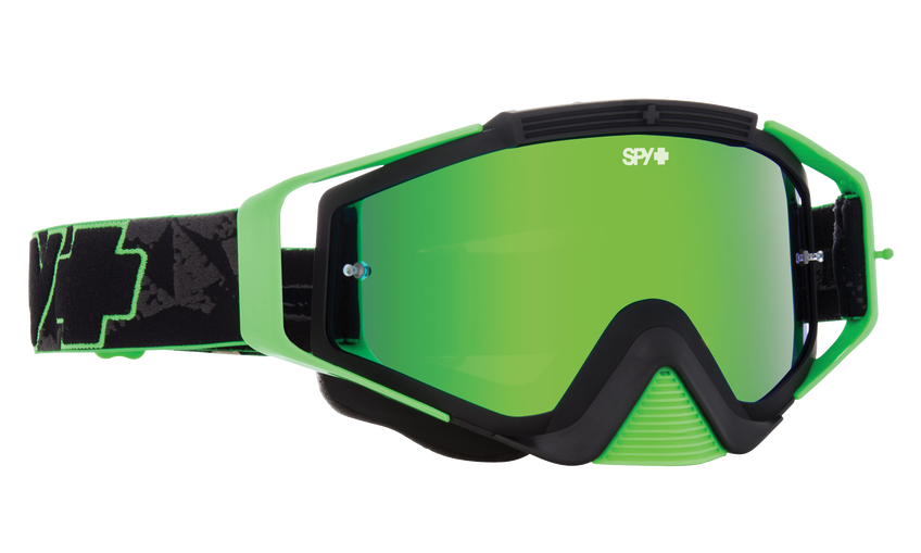 Omen Mx Goggle - Green Highlighter/Smoke with Green Spectra + Clear AFP