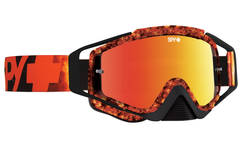 Omen Mx Goggle - Flare/Smoke with Red Spectra + Clear AFP