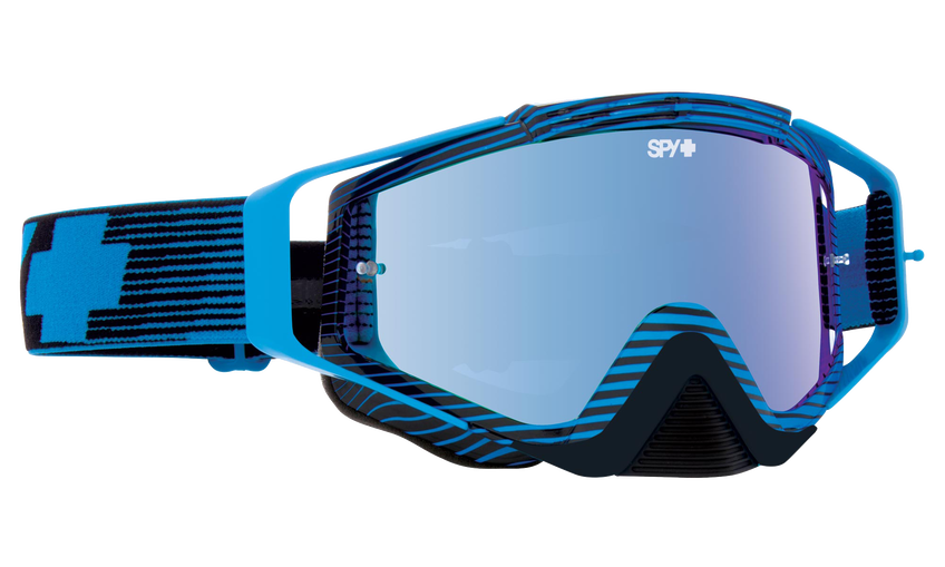 Omen Mx Goggle - Blue Flash/Smoke with Light Blue Spectra + Clear AFP