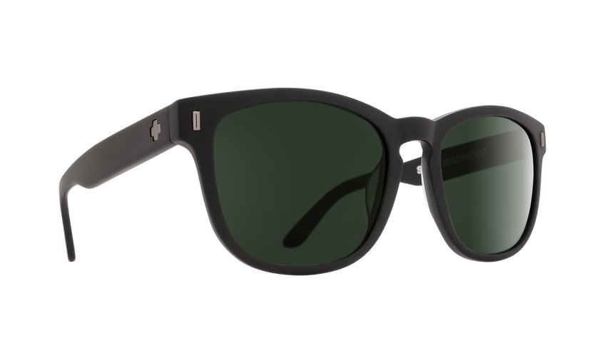 BEACHWOOD MATTE BLACK - HAPPY GRAY GREEN