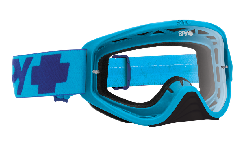 Woot Mx Goggle - Mono Blue/Clear AFP