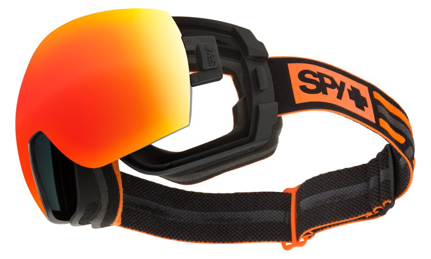 Legacy Snow Goggle - New School Black/Happy Gray Green with Red Spectra + Happy Persimmo