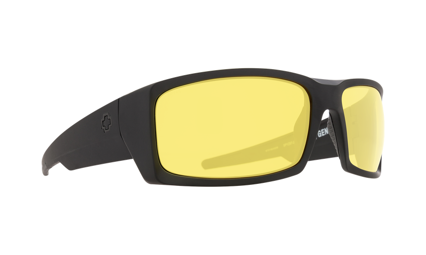 GENERAL MATTE BLACK ANSI RX  - YELLOW