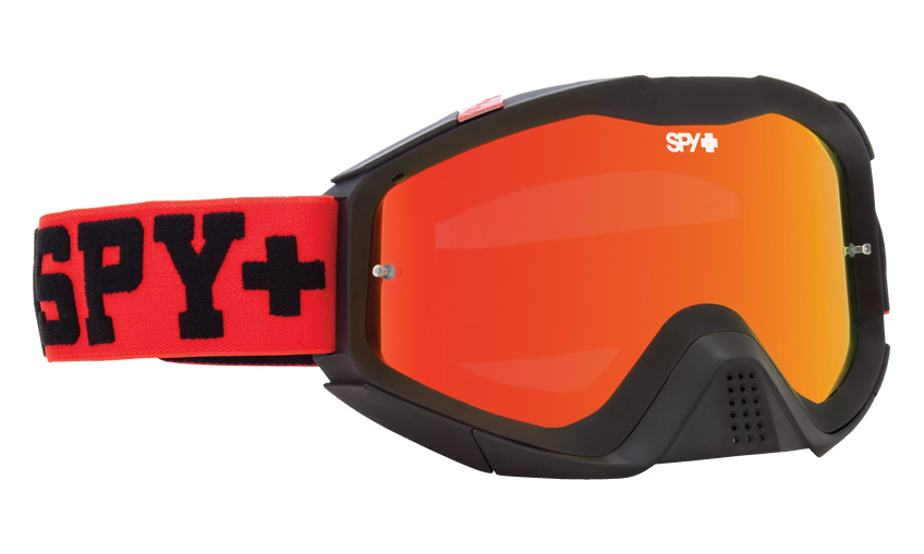 Klutch Mx Goggle - Jersey Red/Smoke with Red Spectra + Clear AFP
