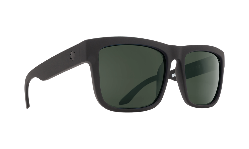 DISCORD MATTE BLACK - HAPPY GLASS GRAY GREEN POLAR
