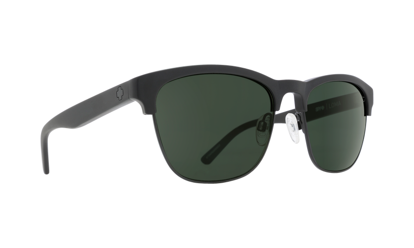 LOMA MATTE BLACK/BLACK - HAPPY GRAY GREEN POLAR
