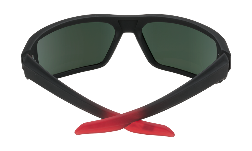 McCoy - Soft Matte Black/Red Fade/Happy Gray Green with Red Flash