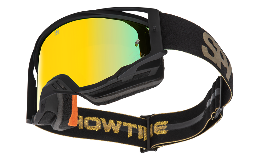Foundation Mx Goggle - Black W/ Gold/Bronze HD w/ Gold Spectra-Clear HD AFP