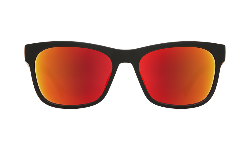 Sundowner - Matte Black/Matte Crystal/Gray w/Red Spectra