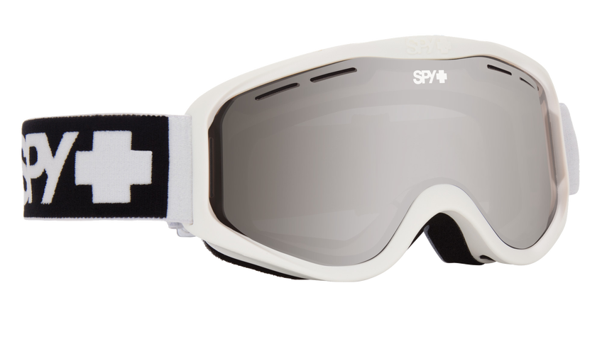 Cadet Snow Goggle - Matte White/Bronze with Silver Spectra (VLT:12%)