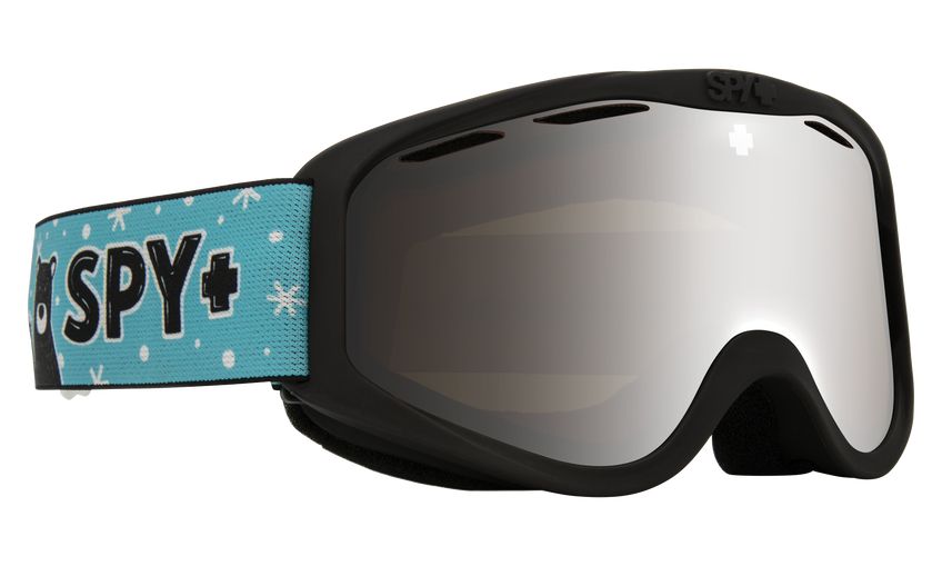 Cadet Snow Goggle - Wildlife Friends/HD Bronze with Silver Spectra Mirror