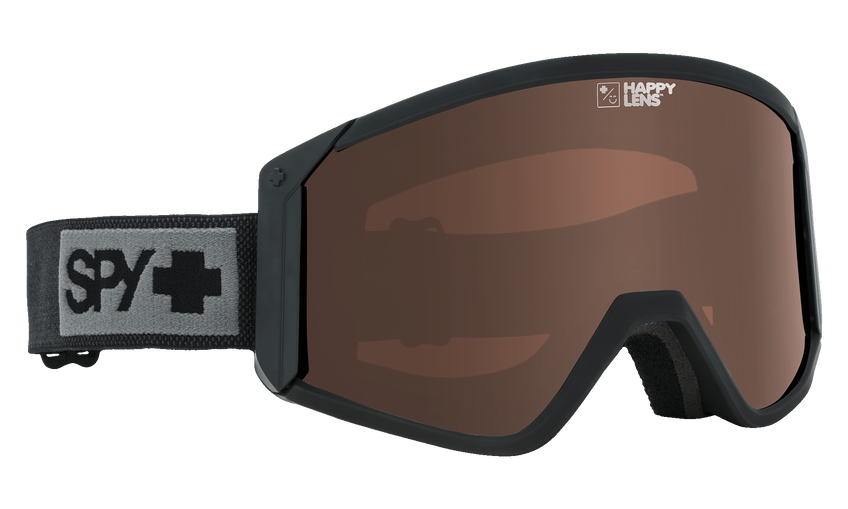 Raider Snow Goggle - Matte Black/Happy Bronze + Persimmon