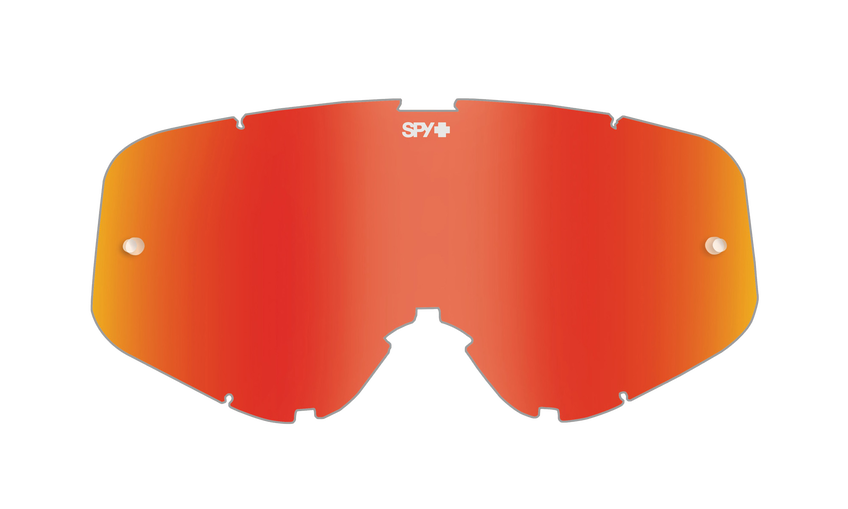 WOOT/WOOT RACE MX LENS - SMOKE W/ RED SPECTRA AFP