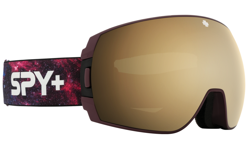 Legacy SE Snow Goggle - Galaxy Purple/HD Plus Bronze with Gold Spectra Mirror + HD Plus LL Persimmon with Silver Spectra Mirror