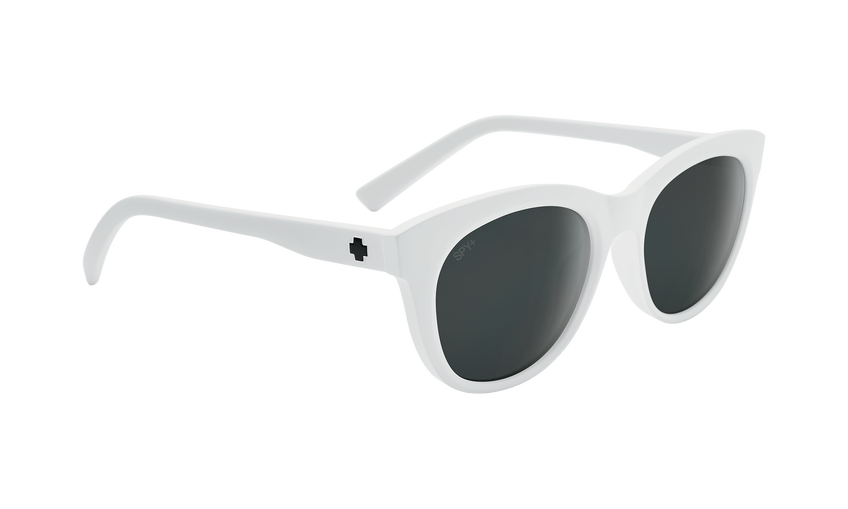 Boundless - Matte White/Gray with Black Spectra Mirror