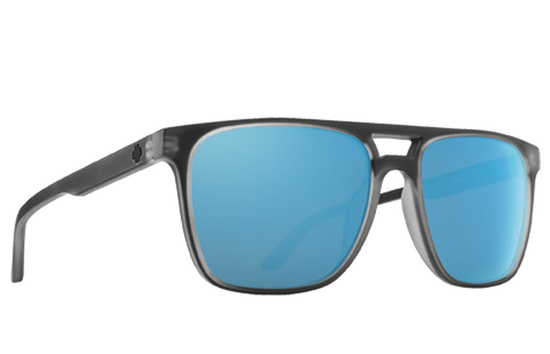Czar Matte Black Ice - HD Plus Gray Green Polar with Light Blue Spectra Mirror