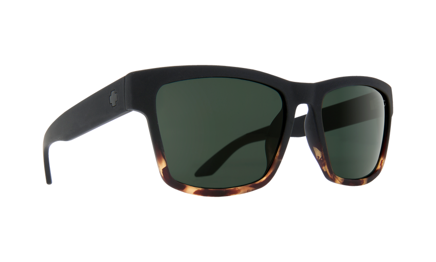 HAIGHT 2 SOFT MATTE BLACK/TORT FADE - HAPPY GRAY GREEN