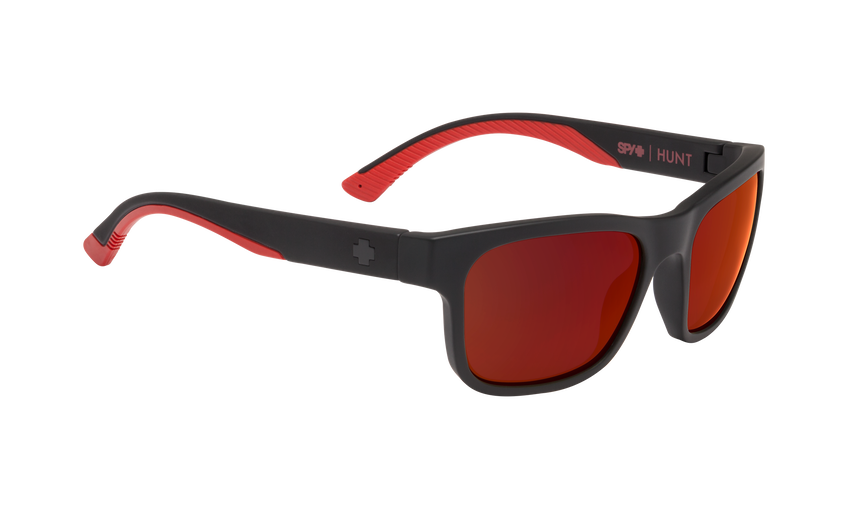Hunt - Matte Black/Red Fade/Happy Gray Green with Red Flash