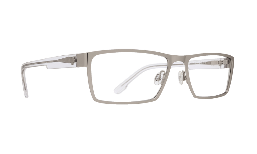 NELSON 57 - MATTE SILVER/CRYSTAL