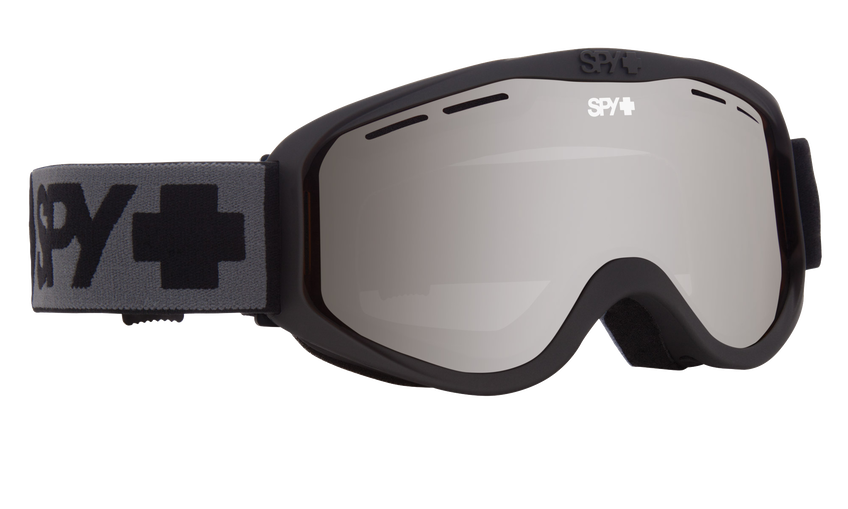 Cadet Snow Goggle - Matte Black/Bronze with Silver Spectra (VLT:12%)