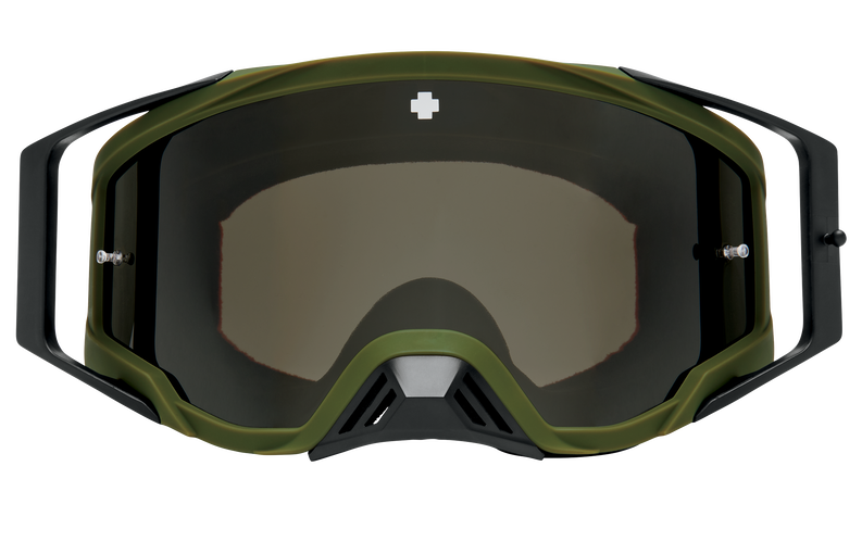 Foundation Mx Goggle - Reverb Olive/HD Smoke with Black Spectra Mirror - HD Clear