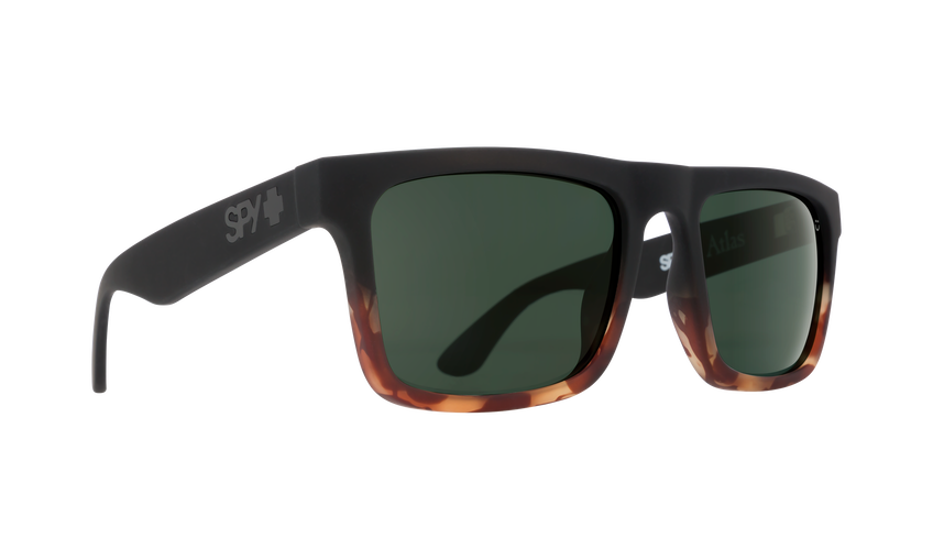 Atlas - Soft Matte Black/Tort Fade/Happy Gray Green