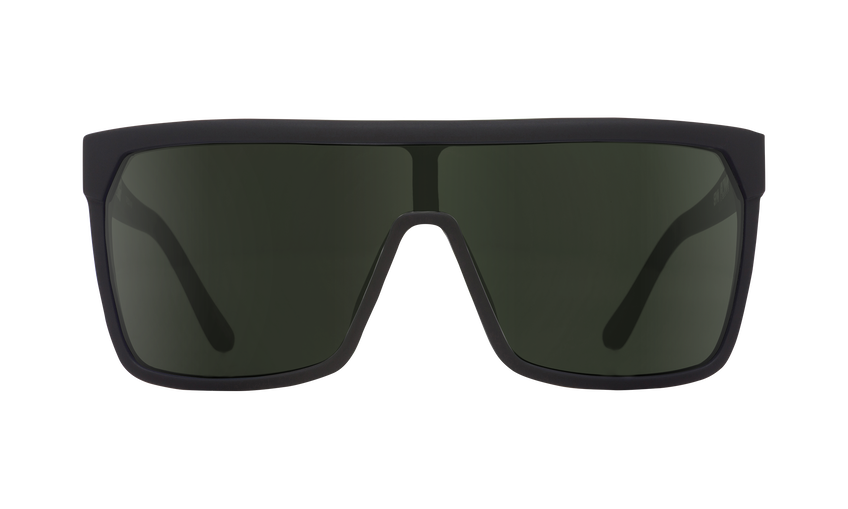 Flynn - Soft Matte Black/HD Plus Gray Green