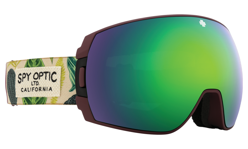Legacy SE Snow Goggle - Botanical/HD Plus Bronze with Green Spectra Mirror + HD Plus LL Persimmon with Silver Spectra Mirror