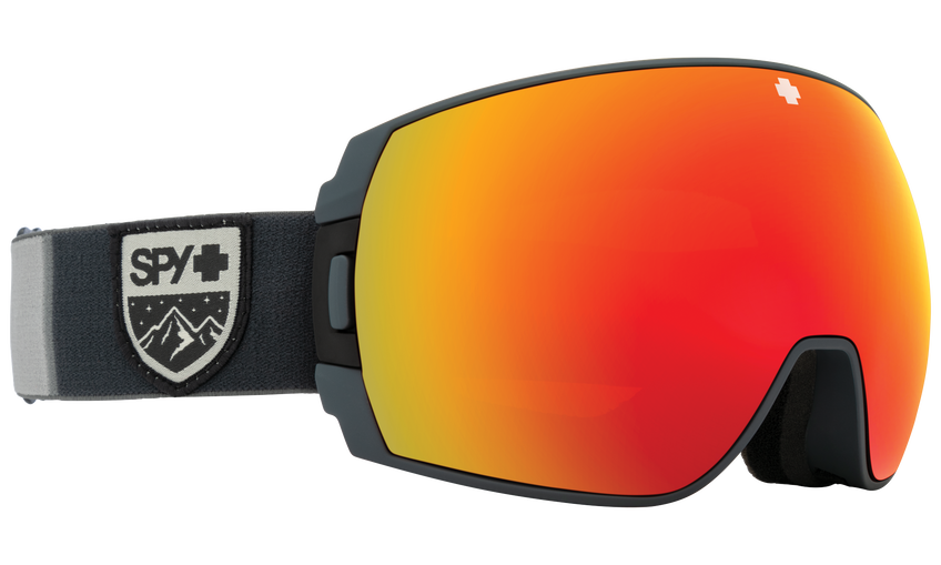 Legacy SE Snow Goggle - Colorblock Gray/HD Plus Bronze with Red Spectra Mirror + HD Plus LL Yellow with Green Spectra Mirror