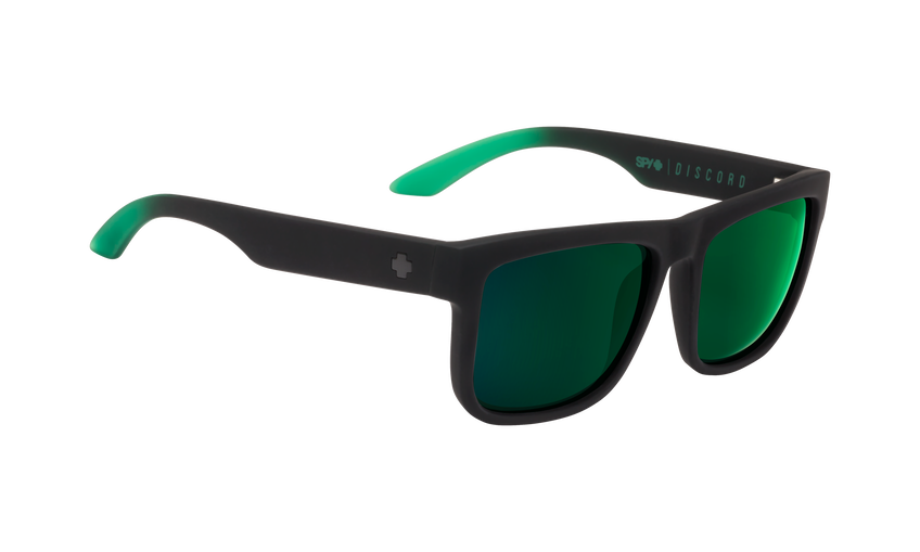 Discord - Soft Matte Black/Green Fade/Happy Gray Green with Green Flash