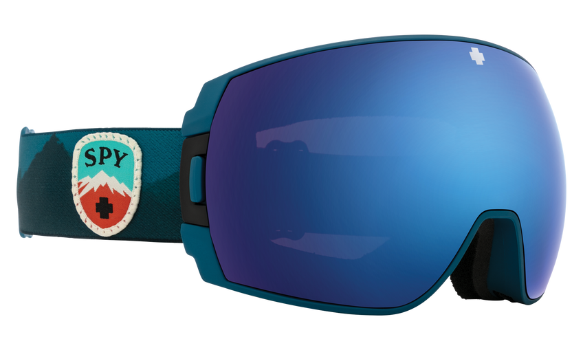 Legacy SE Snow Goggle - Trailblazer Blue/HD Plus Rose with Dark Blue Spectra Mirror + HD Plus LL Gray Green with Red Spectra Mirror