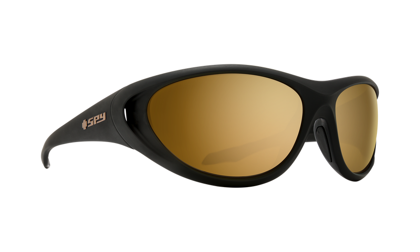 Scoop 2 - 25th Anniversary Matte Black Gold/HD Plus Bronze with Gold Spectra Mirror