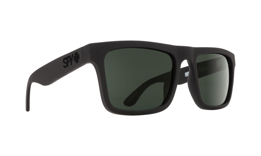 ATLAS MATTE BLACK - HAPPY GLASS GRAY GREEN POLAR