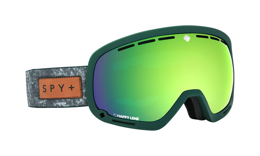Marshall Asian Fit Snow Goggle - Native Nature Green/Happy Bronze w/Green Spectra (VLT:12%) + Happy Persimmon w/ Lucid Silver (VLT:46%)