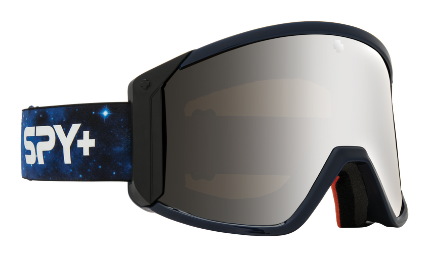 Raider Snow Goggle - Galaxy Blue/HD Bronze with Silver Spectra Mirror + HD LL Persimmon