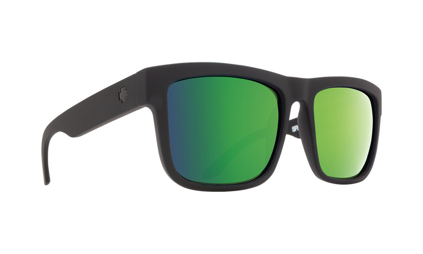 Discord Matte Black - HD Plus Bronze Polar with Green Spectra Mirror