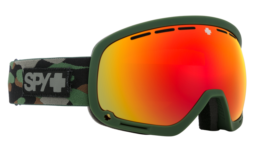 Marshall Snow Goggle - Camo/HD Plus Bronze w/ Red Spectra Mirror + HD Plus LL Yellow w/ Green Spectra Mirror