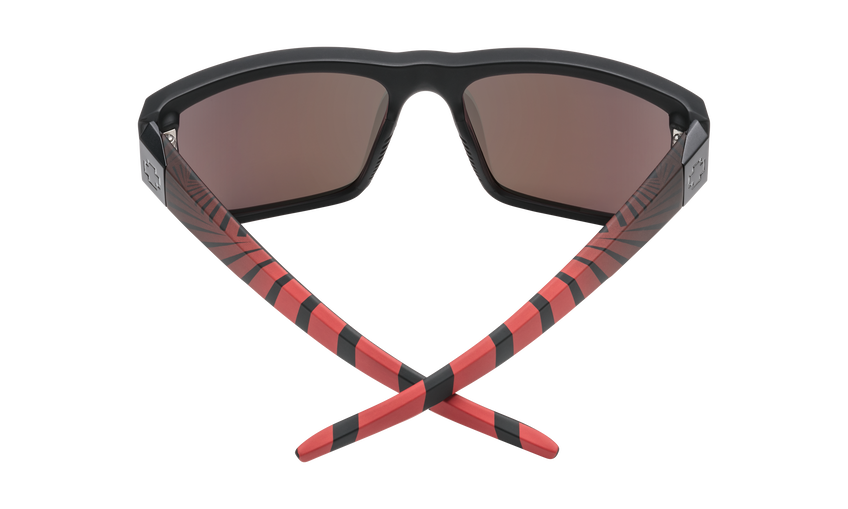 Dirty Mo 2 - Matte Black Red Burst/HD Plus Rose Polar with Red Spectra Mirror
